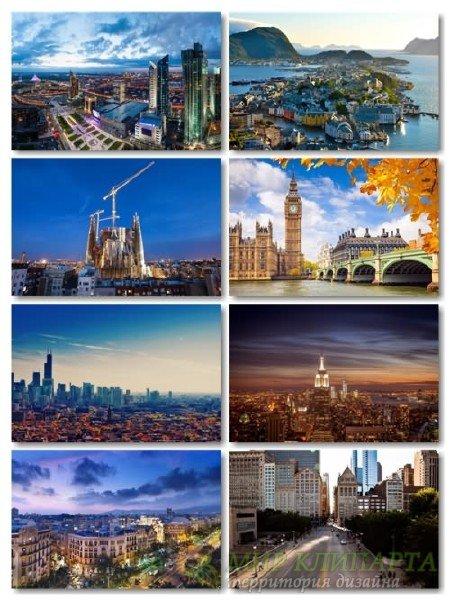 Сборник разных городов архитектуры в фото выпуск 3