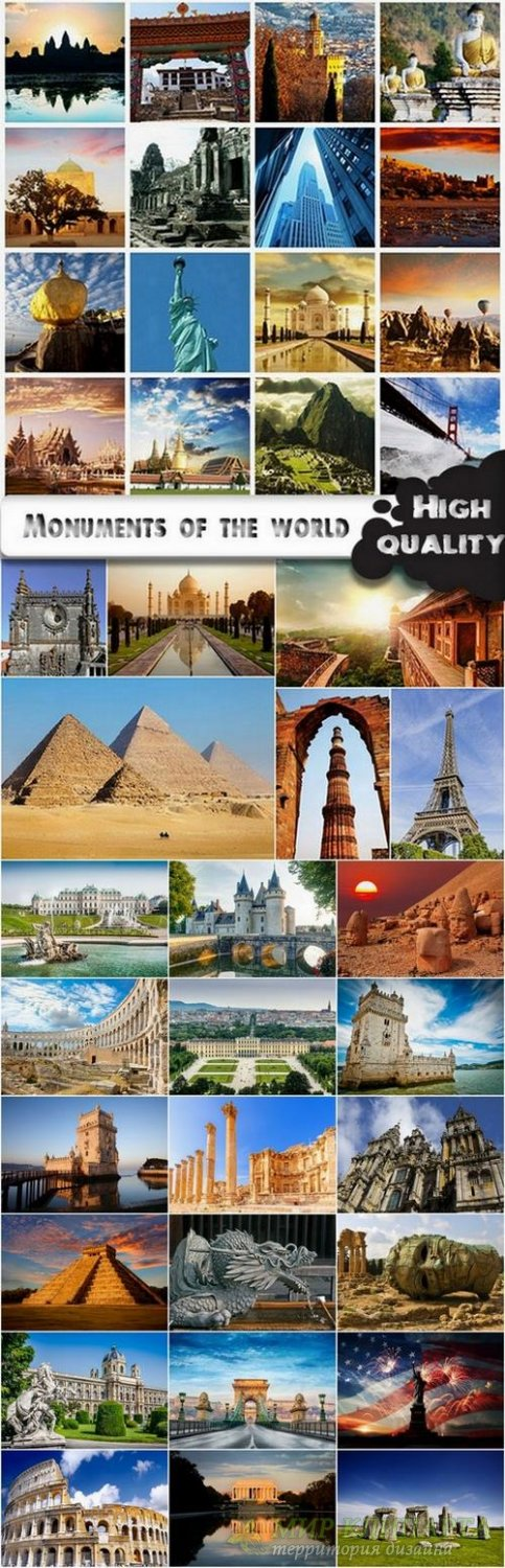 Monuments of the world stock images - 25 HQ Jpg