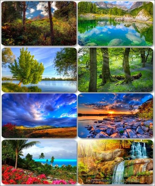 Живописные пейзажи - Обои с фото природы (альбом 24)
