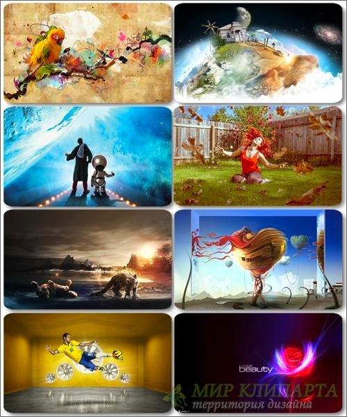 Сборник креативных обоев - Art картинки (часть 20)