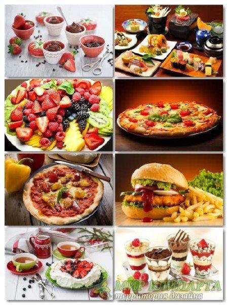 Фото на тему еда, сборник обоев выпуск 4