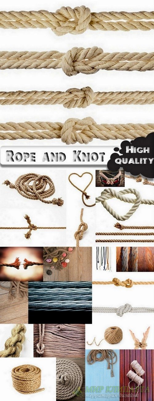 Rope and Knot Collection - 25 HQ Jpg