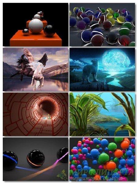 Подборка на рабочий стол 3D графики в картинках выпуск 17