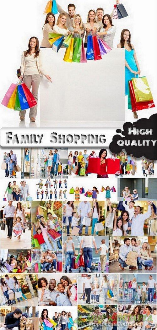 Family Shopping Stock images - 25 HQ Jpg