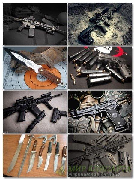 Сборник обоев оружия в фото для рабочего стола выпуск 3