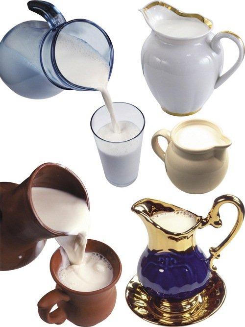 Кувшин с молоком (подборка изображений)