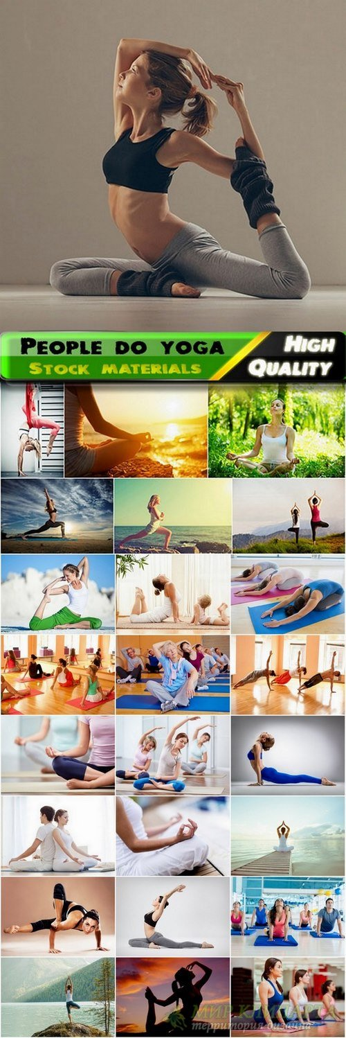 People do yoga Stock Images- 25 HQ Jpg