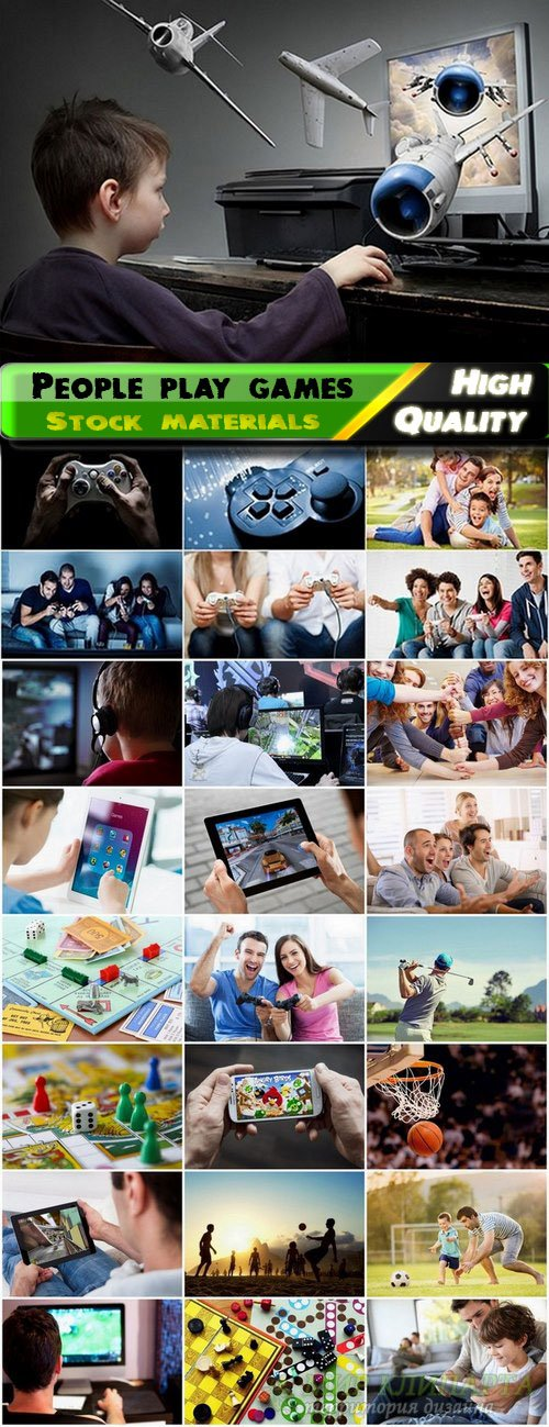 People play games Stock Images - 25 HQ Jpg