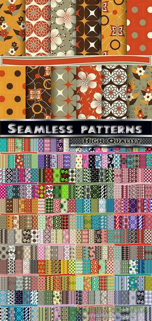Abstract  Seamless patterns set #10 - 25 Eps