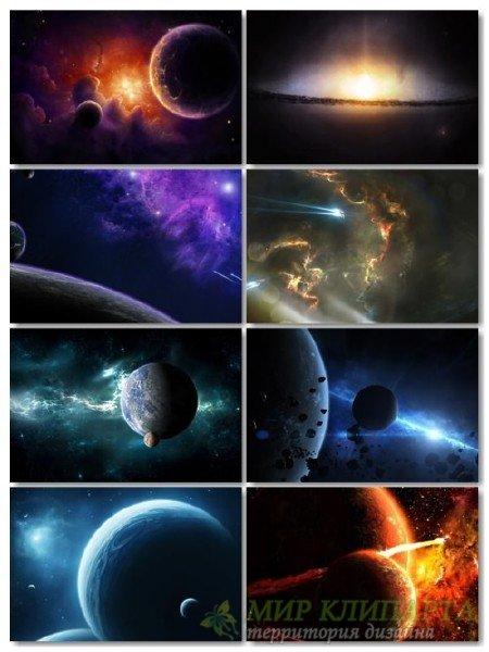 Картинки, фото космоса сборник для рабочего стола обои выпуск 64
