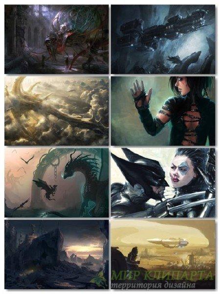 Подборка фантастики обои в картинках для рабочего стола выпуск 33