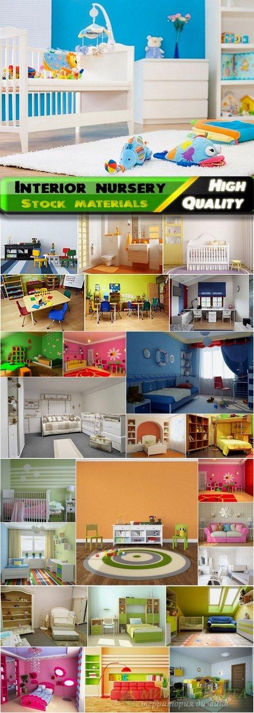 Interior nursery Stock Images - 25 HQ Jpg