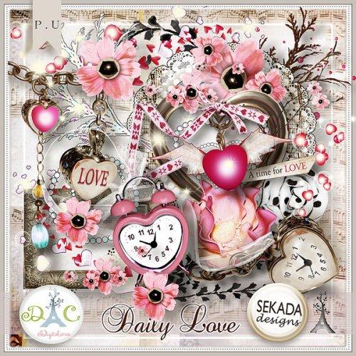 Скрап-набор Daily love
