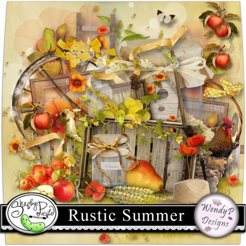 Скрап-набор Rustic summer