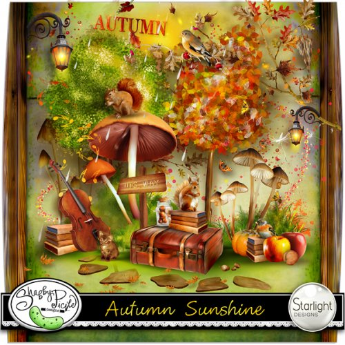 Скрап-набор Autumn sunshine
