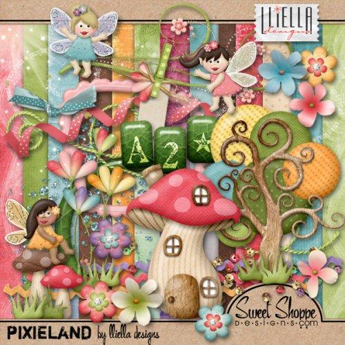 Детский скрап-набор Pixieland
