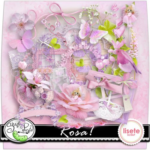Скрап-набор Rosa