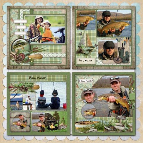 альбом рыболова