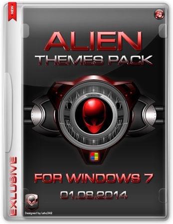 Alien Themes Pack for Windows 7 (01.08.2014)