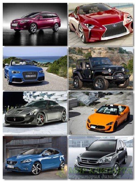 Сборник фотоподборки автомобилей хорошего качества выпуск 12