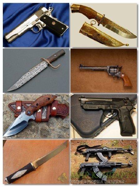 Сборник обоев оружия в фото для рабочего стола выпуск 4