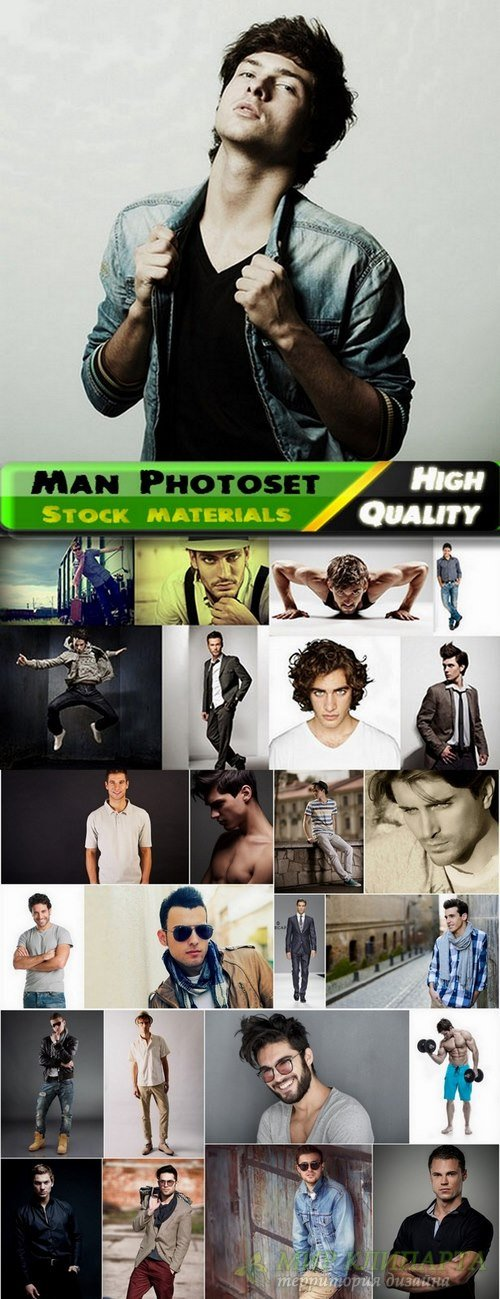 Man foto set Stock Images #13 - 25 HQ Jpg