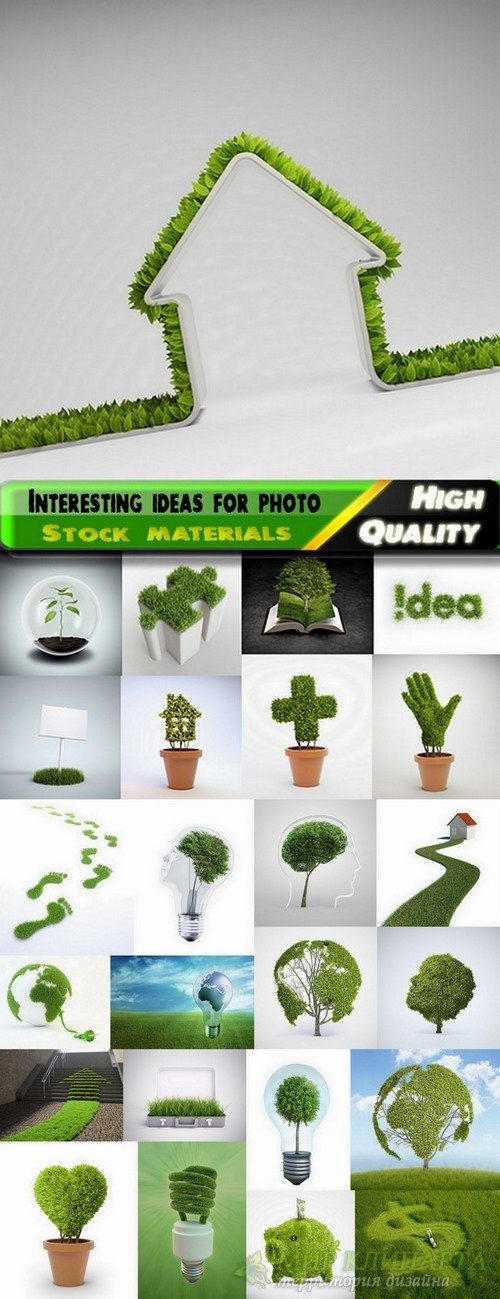 Interesting ideas for photo Green Concept #8 - 25 HQ Jpg