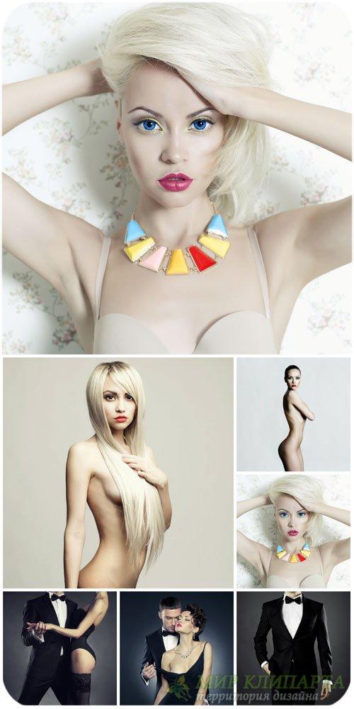 Гламурные люди, модные девушки / Glamorous people, fashionable girl - Stock ...
