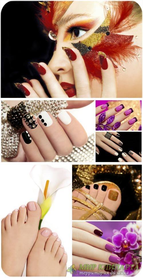 Маникюр и педикюр, мода, уход за руками / Manicure and pedicure, fashion, h ...
