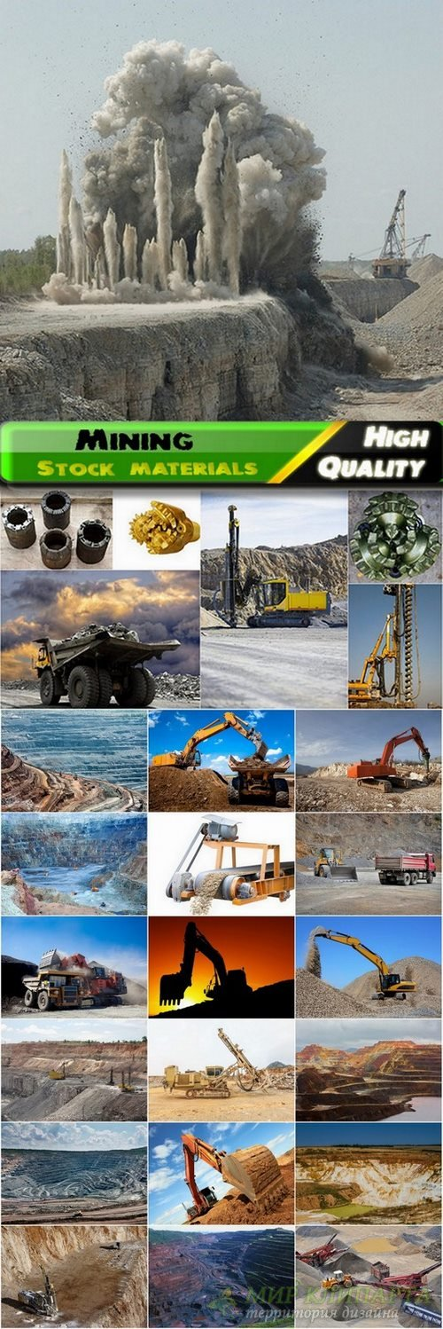 Mining operation and tools Stock Images - 25 HQ Jpg