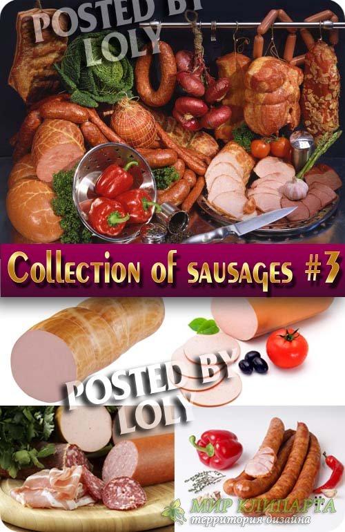 Еда. Мега коллекция. Колбаски #3 - Растровый клипарт