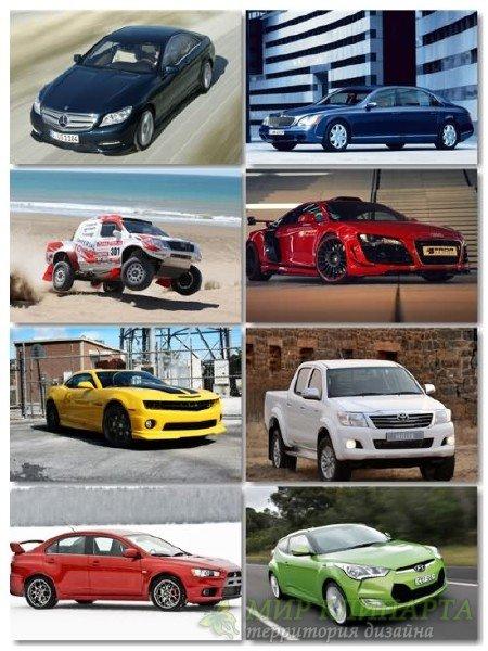 Сборник фотоподборки автомобилей хорошего качества выпуск 13