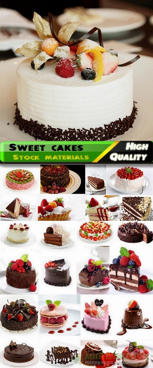 Sweet cakes and cupcakes Stock Images - 25 HQ Jpg