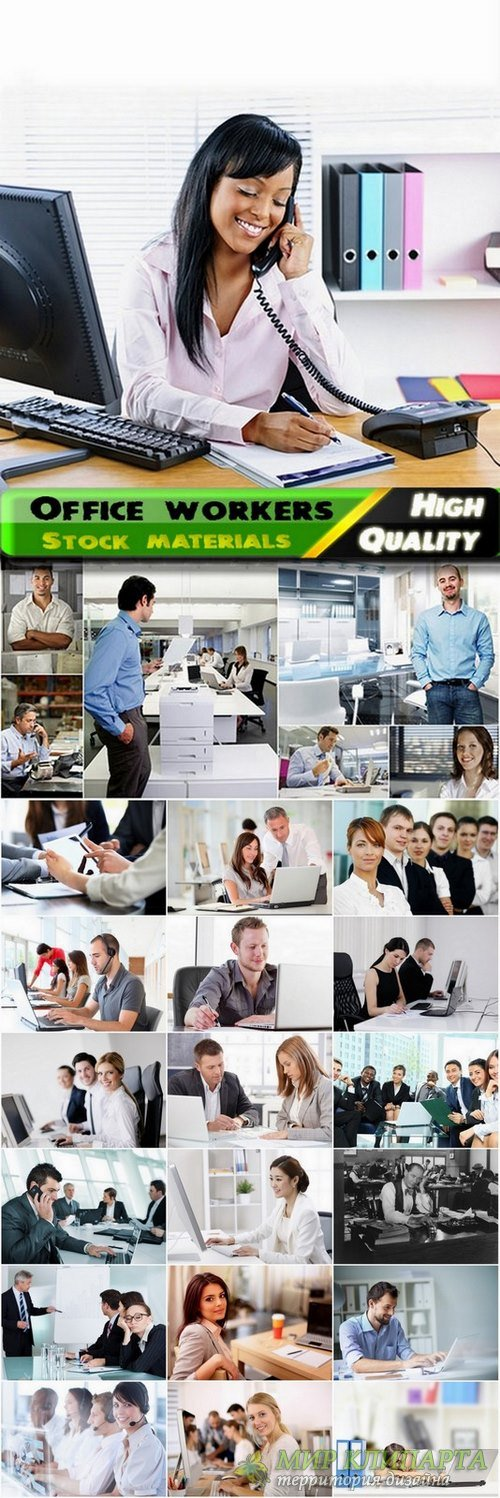 Office workers Business concept - 25 HQ Jpg