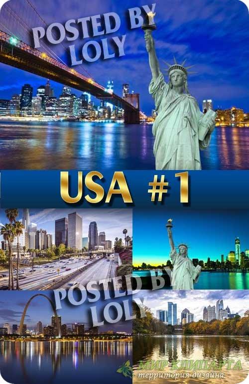США #1 - Растровый клипарт