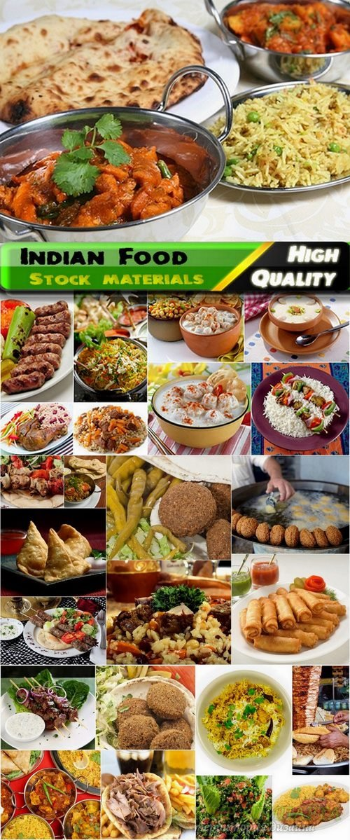 Indian Food Set #4 - 25 HQ Jpg