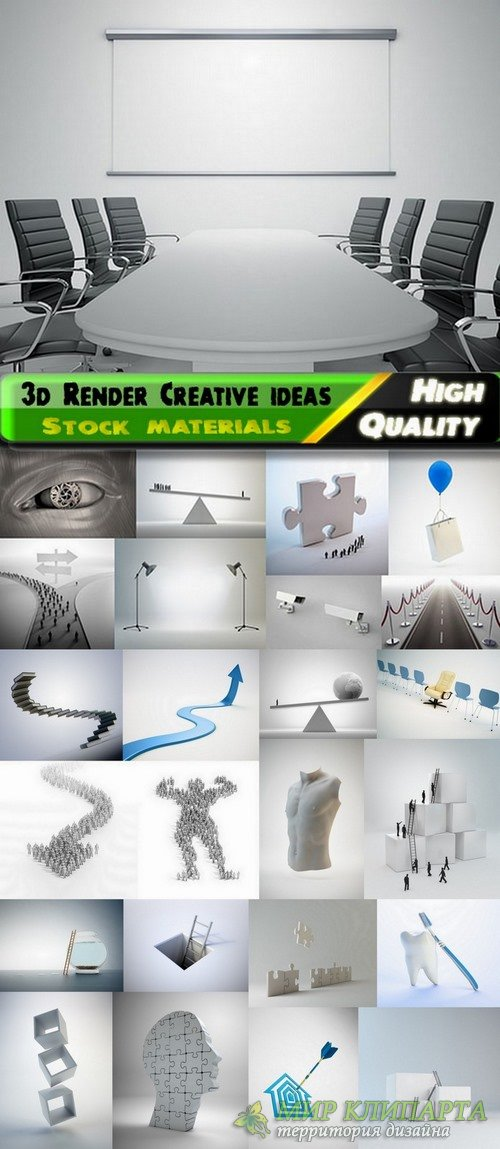 3d Render Creative ideas Stock images - 25 HQ jpg