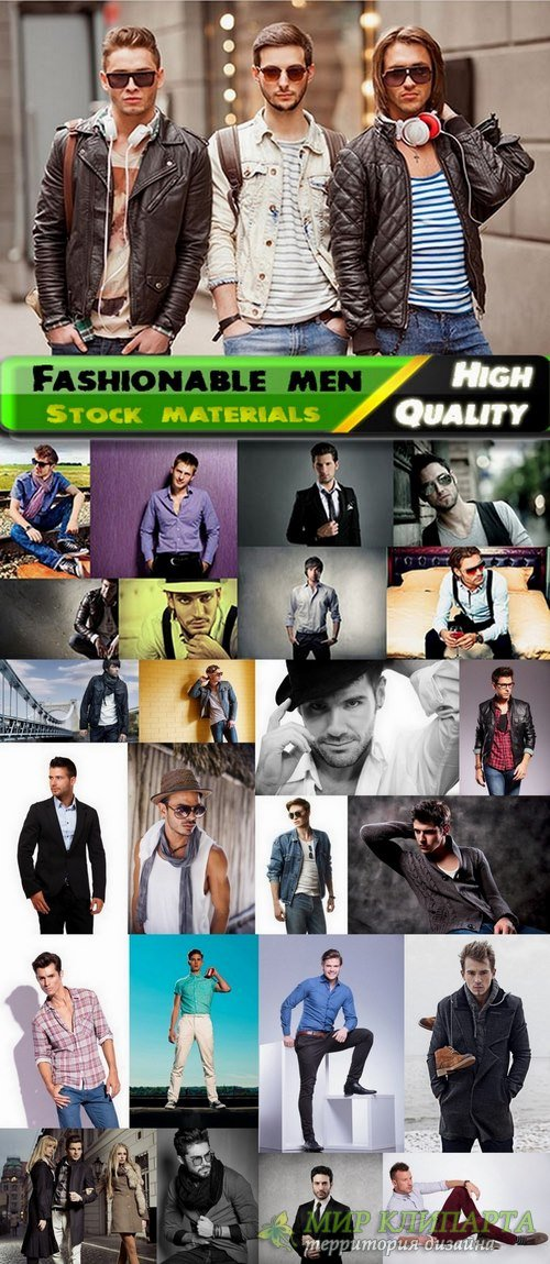 Fashionable men Stock Images -25 HQ Jpg