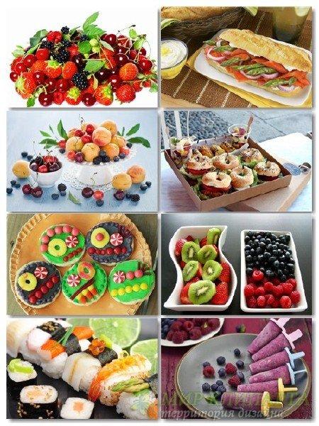 Фото на тему еда, сборник обоев выпуск 8