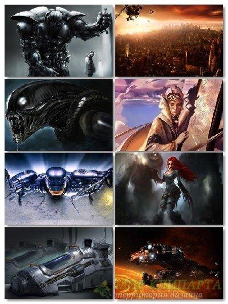 Подборка фантастики обои в картинках для рабочего стола выпуск 42