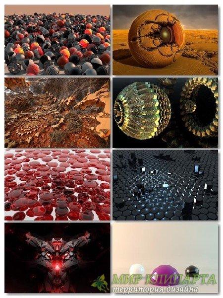 Подборка на рабочий стол 3D графики в картинках выпуск 21