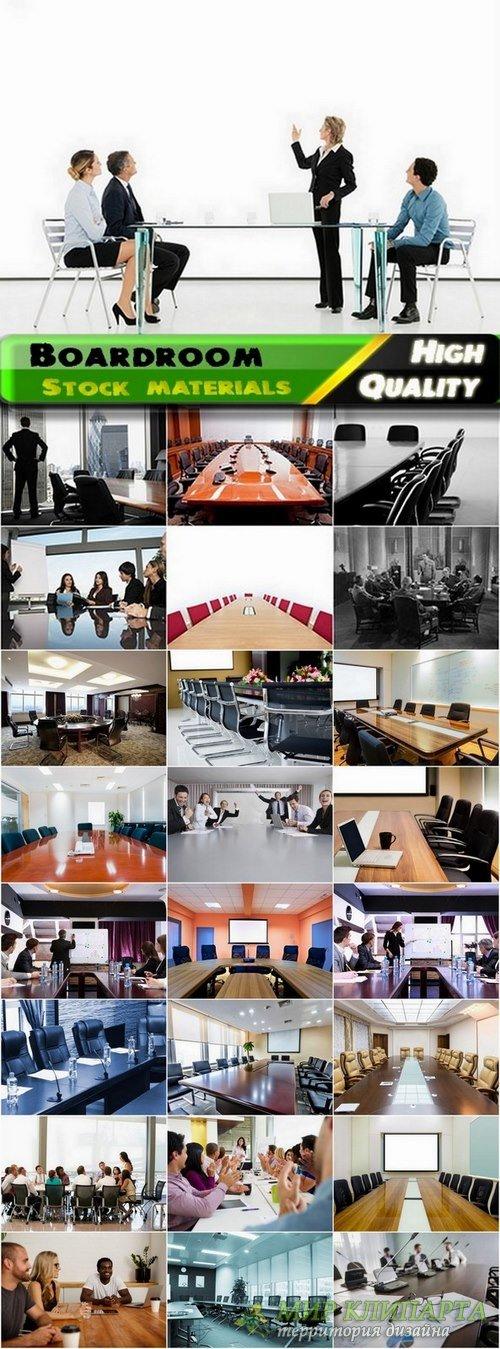Business concept or boardroom interior #2 - 25 Jpg