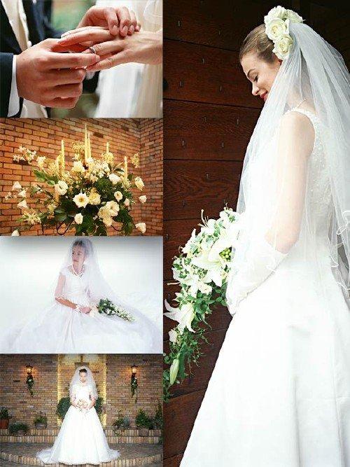 Большая подборка свадебного клипарта