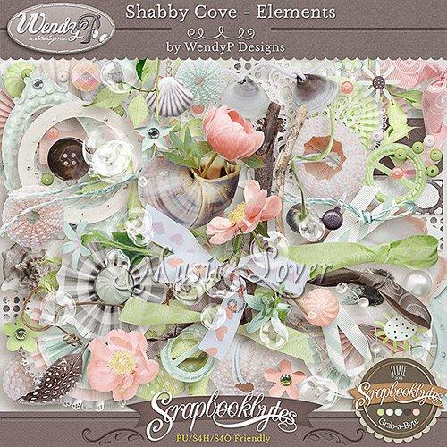 Скрап-набор - Shabby Cove