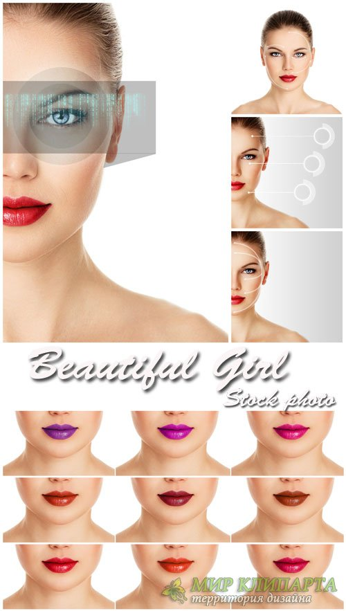 Женская молодость и красота сток фото / Female youth and beauty stock photo ...