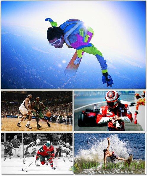 Коллекция обоев на спортивную тему 25
