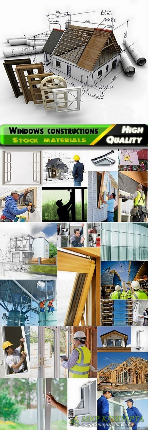 Windows constructions and elements Stock images - 25 HQ Jpg