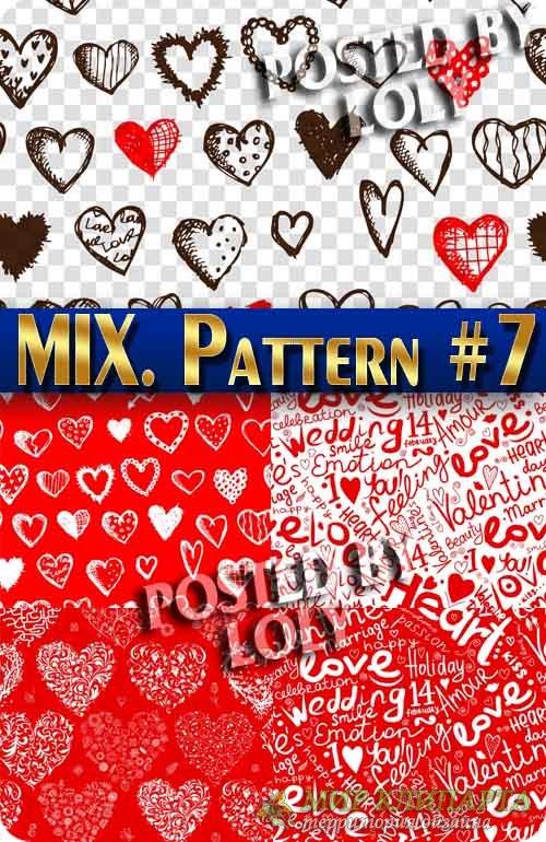 MIX паттерны #7 - Векторный клипарт