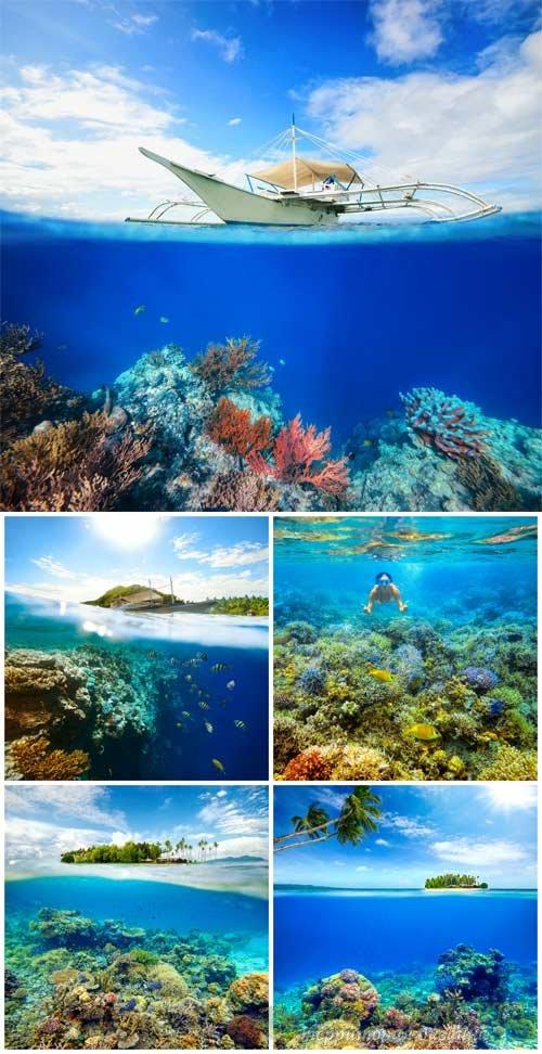 Море, океан / Sea, ocean - Stock Photo