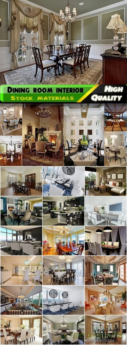 Luxury dining room interior Stock images - 25 HQ Jpg
